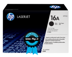 HP 16A Black Original LaserJet Toner Cartridge Q7516A